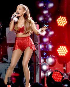 Ariana Grande at KIIS FM's Jingle Ball 2014