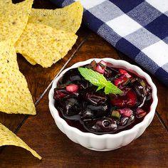 Kitchen Riffs: Chipotle Cherry Salsa