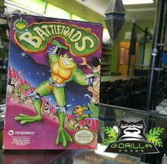 The one and only #BattleToads! Complete in box too! #Retro #NES