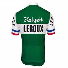 The vintage Retro Helyett Leroux Pro Cycling Jersey brings old-school style from  the French b9ca572ae