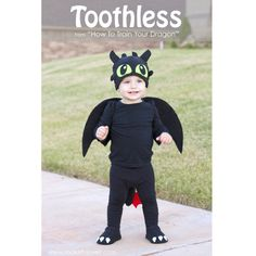 Tutorial: Toothless dragon costume
