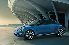 2014 Volkswagen Beetle Blue