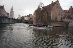 Canal Boat Tour, Bruges, Belgium