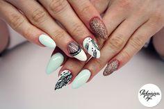 Wiosenne zdobienie paznokci #piekniejszaty #nails #nailsart #paznokcie #hybryda