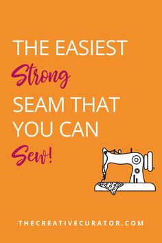 Learning to sew? Need some sewing tips? This is the EASIEST and STRONG seam for your sewing projects! Learn how to sew a welt seam with this step by step sewing tutorial on how to sew a welt seam, one of just many seam types that you can use when sewing! Sewing For Beginners Tutorials, Sewing Tips, Sewing Hacks, Sewing Ideas, Sewing Projects, Sewing Patterns, Sewing Rooms, Pattern Drafting, Learn To Sew