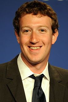 Mark Zuckerberg, Facebook co-founder, chairman and chief executive of Facebook. Since 2010, Zuckerberg has been named among the 100 wealthiest and most influential people in the world by Time magazine's Person of the Year.