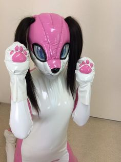 Pink PVC pup! http://www.miraidouga.net/index.php?route=product/product&product_id=1110