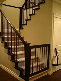 babypet gate to match banister - Gates For Stairs