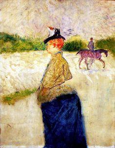 Henri de Toulouse-Lautrec - Émilie late 1890s