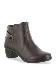 Easy Street Brown Dawnta Bootie
