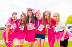 Race for Life, Norwich 2013 with Heart. [Event Photography by Kayleigh Poacher, via Behance]