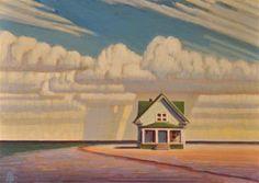 """Rain"" - Original Fine Art for Sale - � Robert LaDuke"