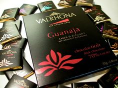 #Valrhona #Chocolate #Bars from France are famous around the world. They come in various delicious flavors and will soon be available at Bernard Noir