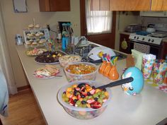 Easter Dessert Spread