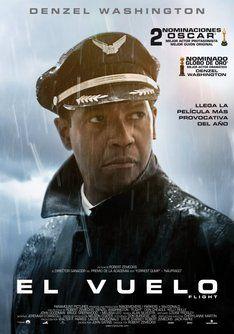 """Tráiler de """"El vuelo"""". Información, sinópsis y ficha técnica de la película #películas #movies #films"""