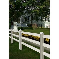 Wam Bam Fence CO. Traditional Ranch Rail Fence Set