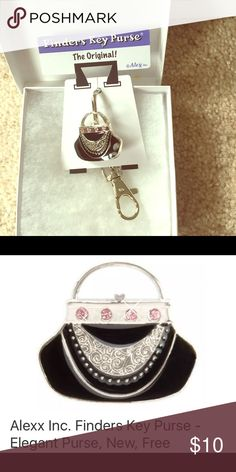Alexx Finders Key Purse Never loose your keys again with this NWT Alexx Key finder clip. Alexx Other