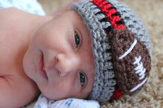 Ohio State football Hat by CarrotTopsCrochet on Etsy