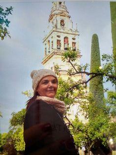 Torre minarete de la mezquita catedral de Córdoba . Que bonita esta ciudad .