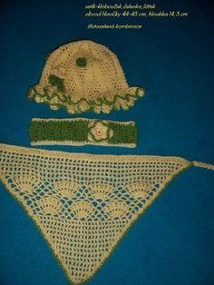 setík k sukýnce a bolerku-vlastní tvorba Crochet Bikini, Bikinis, Swimwear, Crochet Hats, Movies, Movie Posters, Art, Fashion, Crocheted Hats
