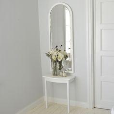 Konsollbord med spegel