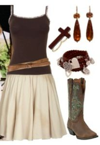 too cute country girl look Country Girls Outfits, Country Girl Style, Cowgirl Outfits, Cowgirl Style, My Style, Country Life, Cowgirl Clothing, Country Wear, Sexy Cowgirl