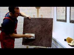 Декоративная окраска Тиккурила часть 1 - YouTube