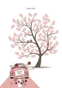 Wedding-Tree inkl. Druck