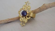 Vintage Rings Womens Rings Gold Ring Unique by BestOffersBoutique