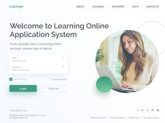 Login Page designed by Ivan Poddubchenko for QU'ARTE design. Login Page Design, Email Password, User Interface Design, Learning, Studying, Teaching, Ui Design, Interface Design, Onderwijs