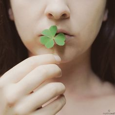 Kiss me; I'm Irish...