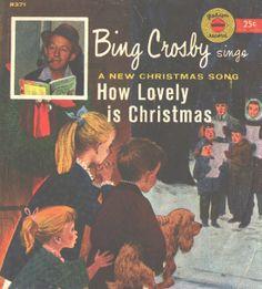 45cat bing crosby bing sings a new christmas song golden records usa - Bing Crosby Christmas Music