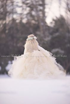 Alice in Winter Wonderland. » Heidi Hope Photography