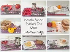 Now our toddler is old enough to work on her practical life skills in the kitchen on regular basis. We set aside time every day to incorporate Montessori principals to create healthy snacks and build healthy habits from the start. Why do we need practical life exercises at home? Practical life activities in the kitchen …