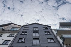 When cladding, have no doubts:CUPA PIZARRAS natural slate facade system | #CUPACLAD #architecture #inspiration