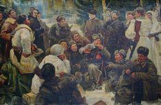 Теркин 116-176 х.м 60е 0.5 by SocrealizmComUa on Etsy