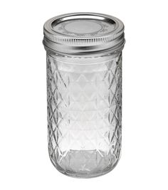 Great drinking glasses for a party. Inexpensive, cheap. Ball Quilted Crystal Jelly Jar-12 Ounces