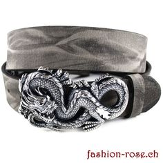 Trendiges Set Ledergurt mit Wechselschnalle Dragon Rind, Belt, Hats, Accessories, Fashion, Celtic, Silver Jewellery, Belts, Moda