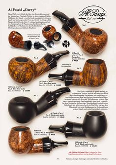 Al Pascià Curvy is on DanPipe catalogue 2017 #alpasciacurvy #alpasciapipes #alpascia #tobaccopipes #pipesmoking