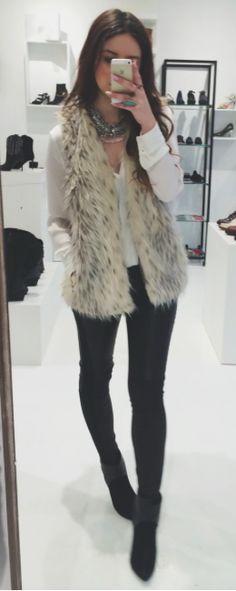 fur + white + black
