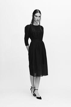 Zofia Chylak - Silk batiste  dress