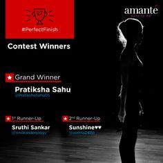 Congratulations! @PratikshaSahu05 @smileandenjoyyy & @aastha24151, the winners of #PerfectFinish Twitter contest.