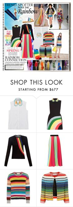 """""""The Rainbow Connection"""" by ccclem ❤ liked on Polyvore featuring moda, Louis Vuitton, Alexis Mabille, Altuzarra, STELLA McCARTNEY, Gucci, Versace, Lanvin, Sonia Rykiel e Christopher Kane"""