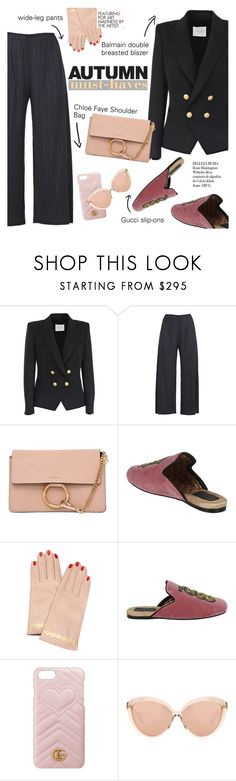 """Autumn must-haves"" by italist ❤ liked on Polyvore featuring Pierre Balmain, Pleats Please by Issey Miyake, Chloé, Undercover, Gucci, Linda Farrow, Whiteley and Louis Vuitton"