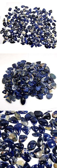 Sodalite 69179: Aaa Rare Unbelievable 2700 Cts 100% Natural Sodalite Loose Gemstone Lot 180 Pc BUY IT NOW ONLY: $74.5