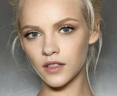 Natural Makeup natural blonde eyebrows Plus - You only need to know some tricks to achieve a perfect image in a short time. Natural Everyday Makeup, Natural Makeup Looks, Natural Make Up, Soft Makeup, Natural Beauty, Natural Brows, Pretty Makeup, Simple Makeup, Natural Face