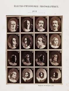 The Mechanism of Human Physiognomy 1862 | The Public Domain Review