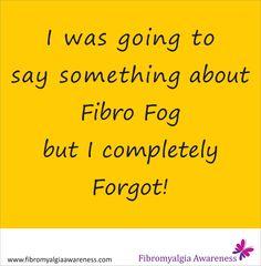 Height of Forgetfulness | Fibromyalgia Awareness