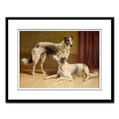 """Persian Greyhounds"" by Carl Reichert, German) Animal Paintings, Animal Drawings, Animal Painter, Summer Dog, Grey Hound Dog, Detail Art, Whippet, Dog Art, Foxes"