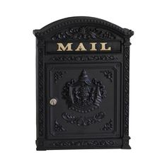 The ecco is a stately Victorian style aluminum mailbox, accentuated by classical motifs that are reminiscent of old world charm and decorum. Ideal for traditional settings, the features crisp and bo